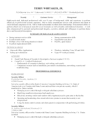 Summary Resume Examples Entry Level Resume For Study