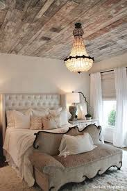 recycled wooden ceiling