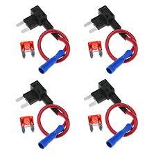 blingkingdom automotive south africa buy blingkingdom automotive 4pcs circuit fuse tap piggy back mini blade ato atc fuse holder box 12v 24v