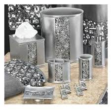 bathroom accessories sets silver. Popular Bath Sinatra Silver Tissue Box - Morgan Would LOVE This Set :-) Bathroom Accessories Sets E