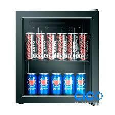 glass front fridge. Small Beverage Refrigerator Glass Front Fridge Mini Compact Door