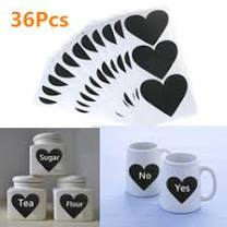 Dropshipping Heart Chalkboard Labels UK | <b>Free</b> UK <b>Delivery</b> on ...