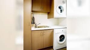 contemporary modern laundry renovation essendon
