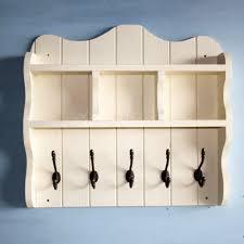 coat rack with shelves