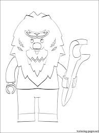 Small Picture Lego Chima Breezor printable page to color Coloring pages