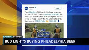Free Bud Light Philly Bud Light Spills Details On Free Beer Promise