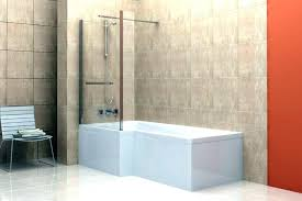 showers modern bath shower combo large tub bathtub size of design ideas corner with sh