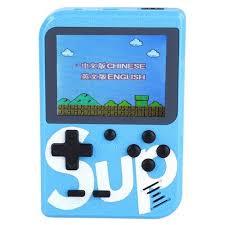 Купить <b>Игровая приставка Palmexx</b> SUP Game Box 400 in 1 синий ...