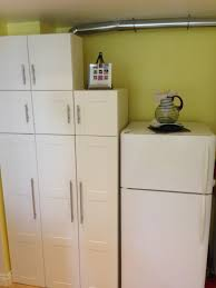 Final result: Hiding stackable top-load washer/dryer in AKURUM ...