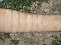 Nars Sheer Glow Color Chart Pale Foundations Foundation Shade Lighteners Matejas