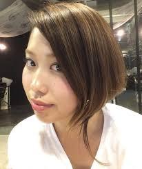 人生最短な前髪 ショートボブオン眉 Sakura 髪型 ボブ 触覚