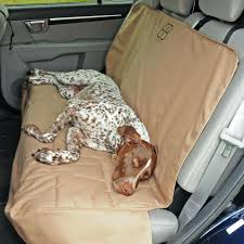 car rear seat covers for dogs dog auto pet cover protector tan rac