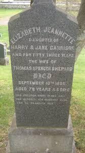Elizabeth Jeannette Garrison Shepard (1808-1886) - Find A Grave Memorial