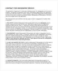 event agreement contract 11 sample freelance contract templates free sample example