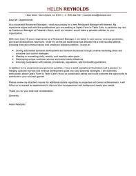Creative Retail Jobs Cover Letter Examples Management Retail Job Sample Restaurant