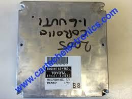 Plug & Play Denso Engine ECU, Toyota Corolla 1.6 VVTI, 89661-02B80 ...