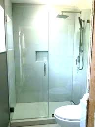 cost of glass shower door cost to install shower door cost to install shower door shower cost of glass