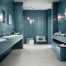 bathroom tile pattern combination with glass mosaic for wall and white marble tiles floor in gallery