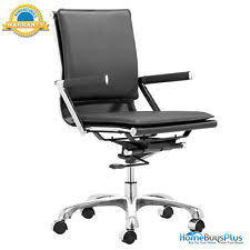 unico office chair. ZUO 215212 Lider Plus Office Chair Black Unico