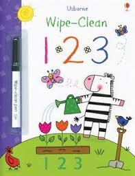 a great le designed to help young children learn their numbers each page is wipe clean and a special pen is included children can practice writing