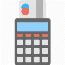 Calculator Credit Card Payment Shopping And Commerce 5 By Creative Stall