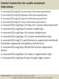 Sample Auditor Resumes Top 8 Audit Assistant Resume Samples