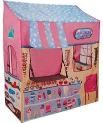 Image is loading Japan-Kids-Play-Tent-House-Ice-Cream-Shop-