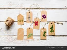 Flower Pressed Paper Wooden Table Flowers Pressed Flower Paper Original Photoset