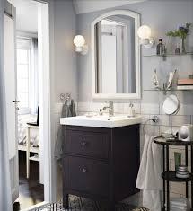 Waschbeckenschrank2 Schubl Hemnes Odensvik Weiß Badezimmer