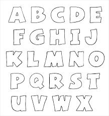 Alphabet Outline Template Printable Letter P Outline Alphabet Template Rightarrow Template