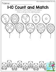 Counting Numbers 1 Worksheet 4 B Printable Preschool Worksheets ...