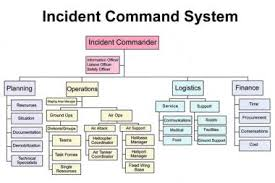 Incident Command Flow Chart Disaster Planning Introduction The Scope And Nature Of The