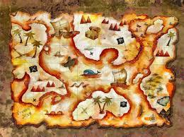 children s vintage treasure map wall mural