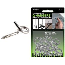 Q-Hangers Outdoor Wire Holder