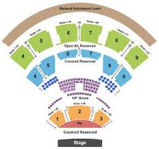 San Diego State Open Air Theatre Seating Chart 54 Particular Blossom Music Center Seating Chart Pit