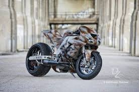 kawasaki ninja zx 10r rat bike by altered chrome garage