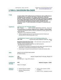 Professional Nursing Resume Nurse Resume Easyjob
