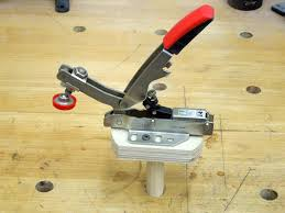 bench dog clamp. bessey auto-adjust toggle clamps | tool review bench dog clamp