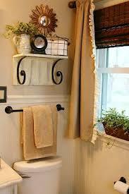 11 fantastic small bathroom organization ideas put a shelf over toilet bathroom storage idea from