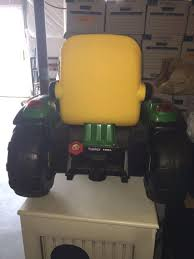 next next peg perego john deere turf tractor trailer battery powered