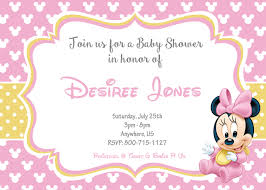 mickey and minnie invitation templates mickey mouse baby shower invitations templates boy free printable