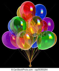 Congratulation Party Decorations Balloons Happy Birthday Party Decoration Colorful Translucent