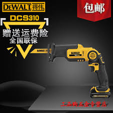 dewalt power tools saw. dewalt power tools dcs310 10.8v lithium rechargeable saber saw reciprocating carpentry chainsaw hand holding