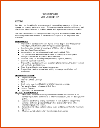 Parts Of Resume | Moa Format