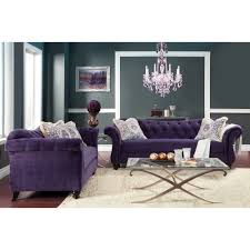 Furniture of America Agatha 2-piece Tufted Sofa and Loveseat Set - Free  Shipping Today - Overstock.com - 16100623
