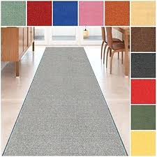 home depot rubber backed carpet runners custom size grey solid plain nonslip hallway stair rubber backed red carpet runner