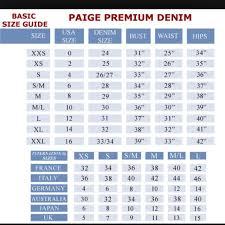 Jeans Conversion Chart Australia 74 Veritable Womens Jeans Size Comparison