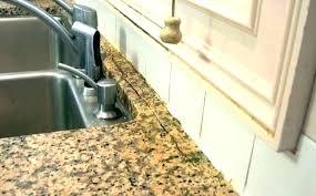 how to fix chip in granite countertop edge for granite repair and restoration chip seam