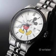 mens mickey mouse watch invicta disney mickey mouse black stainless steel new limited edition mens watch