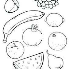 Lofty Idea Fruit Coloring Sheet Pages Fruits Of Sheets Free